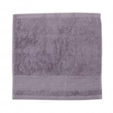 HOLA home 波紋方巾 灰 33x33cm