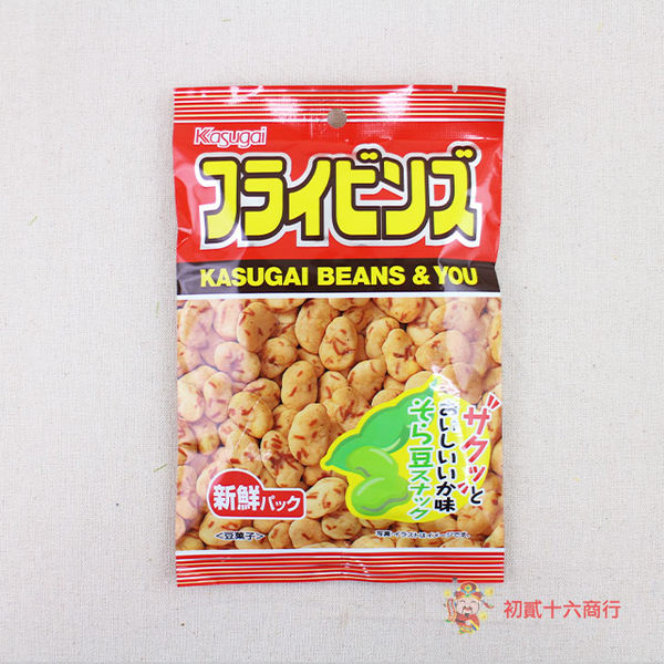 日本零食春日井-炸蠶豆91g【0216零食團購】4901326012325