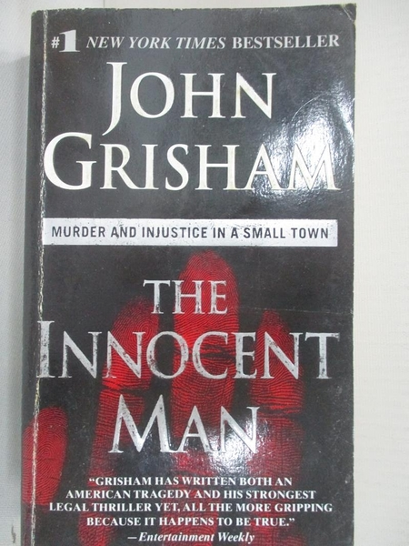 【書寶二手書T9/原文小說_B6G】The Innocent Man: Murder and Injustice in a Small Town_Grisham, John