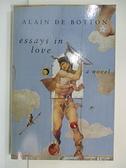 【書寶二手書T1/原文小說_B5V】Essays in Love/a Novel_Botton, Alain de