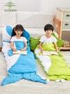 EUSEBIO睡袋兒童戶外加厚保暖室內防踢被學生午休睡袋  ATF  魔法鞋櫃