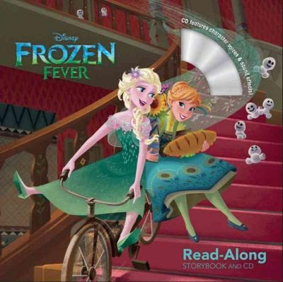 【麥克書店】FROZEN FEVER (冰雪奇緣) /英文繪本附CD ‧聽迪士尼說故事