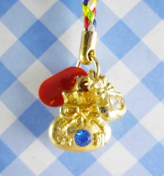 【震撼精品百貨】日本精品百貨-手機吊飾/鎖圈-磁石系列-寶袋(藍)