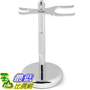 [美國直購] Perfecto B00KO46CTA 刮鬍刀 放置架 Deluxe Chrome Razor and Brush Stand (merkur刮鬍刀可參考)