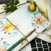 洛林原創少女心手帳本櫻花小清新可愛TN旅行套裝筆記本文具本子 挪威森林