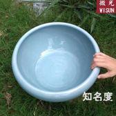 魚缸 陶瓷魚缸客廳桌面金魚缸大號睡蓮缸碗蓮花盆烏龜缸水仙瓷盆T 3色