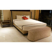 [紅蘋果傢俱] CT-045後現代臥室系列 床 床頭櫃 梳妝桌椅 寵物椅 歐式 高檔 簡約 不銹鋼輕奢