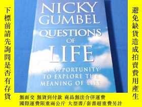 二手書博民逛書店QUESTIONS罕見OF LIFEY263801 NICKY