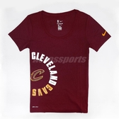 Nike T恤 Dri-Fit Tee Essential Sideout Cleveland Cavaliers 酒紅 黃 騎士隊【ACS】 926630-677