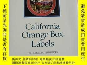 二手書博民逛書店California罕見Orange Box Labels-AN