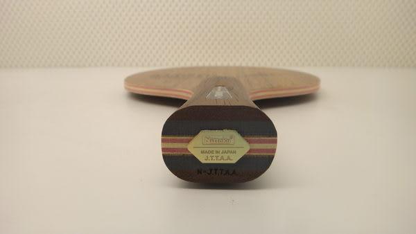 Nittaku BARWELL 胡桃木面七夾板 桌球拍