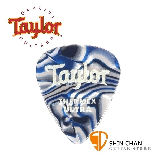 Taylor 超頂級彈片 Thermex Ultra Picks Blue Swirl 進口原廠彈片 Pick【厚度:1.0mm/1.25mm/1.5mm】