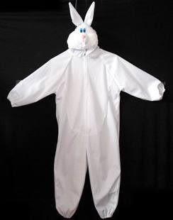 表演服裝130cm兔子連體小粉兔
