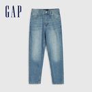 Gap女裝 時尚水洗五口袋牛仔褲 584281-淺色水洗