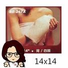 """貝斯美德濕熱電毯 BE-267A-14x14"""" 背部+四肢適用 【醫妝世家】"""