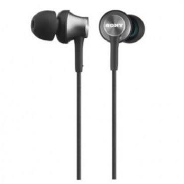 SONY MDR-EX450  灰色  金屬極簡 入耳式耳機