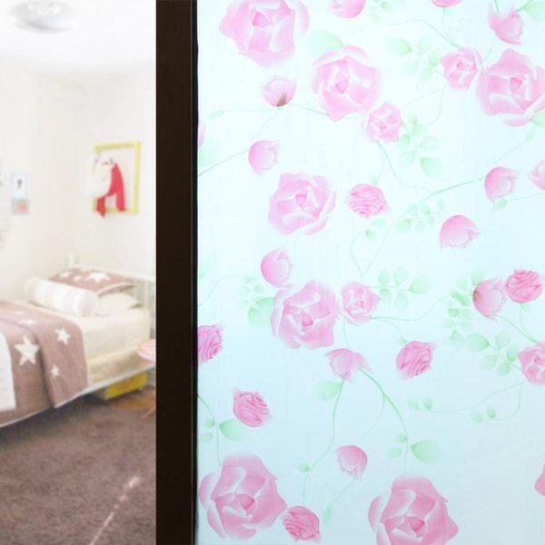 雙十二返場促銷防水玻璃貼浴室窗戶貼紙衛生間窗花貼膜自粘玻璃貼紙
