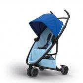 Quinny Zapp X FLEX 嬰兒手推車(三輪/獨立把手)-標準版(深藍篷淺藍布)贈提籃+雨罩[衛立兒生活館]
