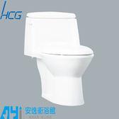 和成 HCG 麗佳多系列 馬桶 C4283 AdbT / C4286 AdbT 單體馬桶 一段沖水 安逸衛浴館