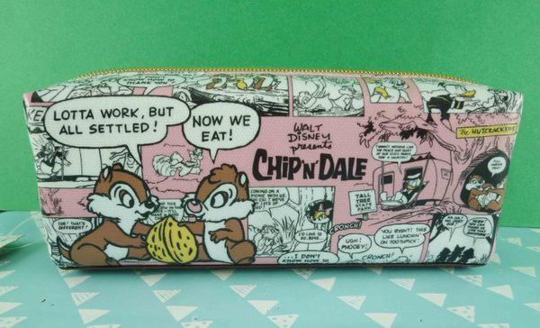 【震撼精品百貨】Chip N Dale_奇奇蒂蒂松鼠~筆袋-粉漫畫