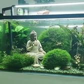 樹脂如來佛像禪意擺件魚缸造景假山流水裝飾【君來佳選】