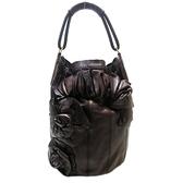 VALENTINO 范倫鐵諾 紫色牛皮玫瑰花水桶包肩背包 Rose Vertigo Hobo Bag【BRAND OFF】