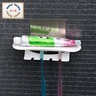 洗漱掛架 (超強專利魔力無痕貼) 置物架 收納架  牙刷架 浴室牙刷架 牙膏架