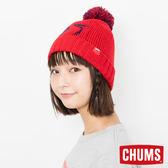 CHUMS 日本 Booby 保暖毛帽 紅 CH051095R001