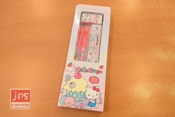 Hello Kitty 凱蒂貓 輕便文具組 散步 667824