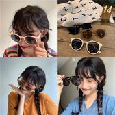 韓版太陽鏡新款ins潮流網紅時尚街拍墨鏡圓臉女防紫外線眼鏡 流行花園