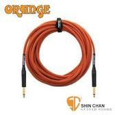 【貝斯專用高傳真導線】【Orange STIN-OR-30】 【電民謠吉他/電子琴皆可用】【30呎雙直頭吉他】