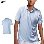 Nike Polo衫 男 淺藍 運動襯衫 短袖 短T Polo衫 Dri-Fit 高爾夫 排汗 透氣 短袖 939138442