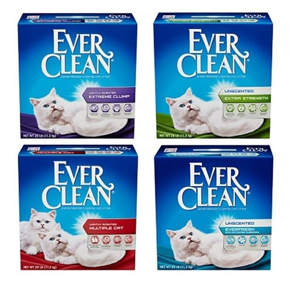 【預購預計6月中到貨】*KING WANG*【兩盒免運組】Ever Clean藍鑽貓砂25磅