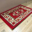 范登伯格 艾美樂進口優質地毯-花圈(紅)50x80cm