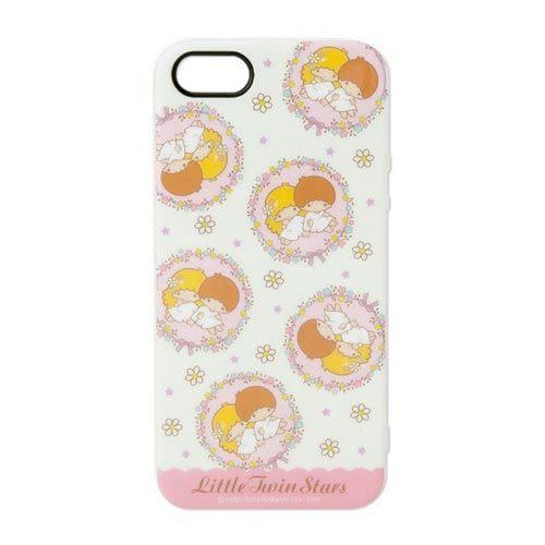 ★funbox生活用品★《Sanrio》雙星仙子 浪漫花環 iPhone5保護殼_578541