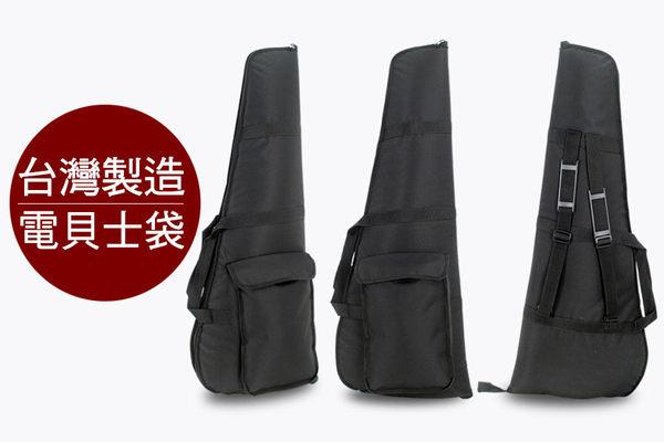 【小叮噹的店】全新 台製 TEB02 三角 電貝士袋 防水 亮皮 單邊加厚棉 雙背帶