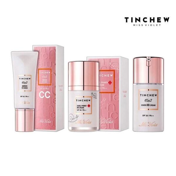 韓國TINCHEW魔幻美姬 BB霜 CC霜