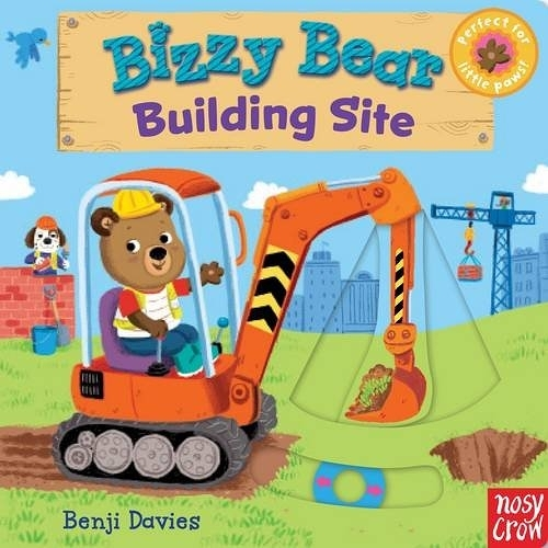 Bizzy Bear:Big Building Book 建築工熊熊新奇操作書(英國版)