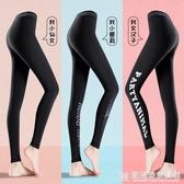 健身瑜伽褲女速幹夏季薄款高彈內衣運動緊身褲跑步籃球服打底褲子 『歐尼曼家具館』