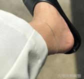 腳鍊女925純銀蛇骨腳鍊女款韓版簡約個性腳踝小眾設計2019新款腳飾 大宅女韓國館