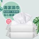 【廚房清潔濕巾】60入 抽油煙機鍋具清潔巾 水槽碗盤深層潔淨溼紙巾 油漬污漬清鬆去除