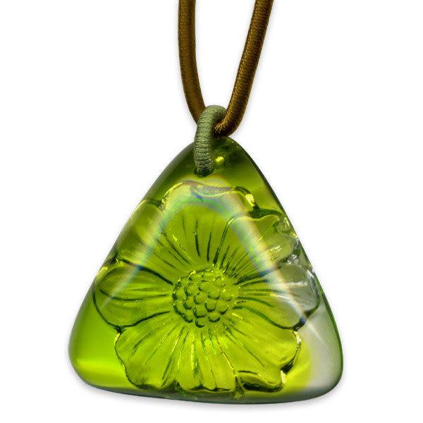 鹿港窯~開運古法水晶琉璃項鍊~豪放 附精美包裝◆免運費送到家