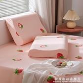 乳膠枕套枕頭套一對裝單個比純棉兒童記憶50x30單人冰絲大人60x40 科炫數位