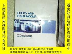 二手書博民逛書店Equity罕見and Fixed Income 2015 5