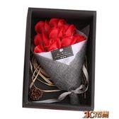 生日禮物七夕女生創意小清新浪漫走心禮品香皂花束禮盒玫瑰花 MKS免運
