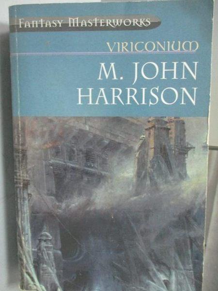 【書寶二手書T5/原文小說_MOP】Viriconium_M.John Harrison