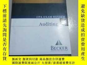 二手書博民逛書店CPA罕見EXAM REVIEW :Auditing.Y2672