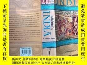 二手書博民逛書店Alberunis罕見India:an account of religion,philosophy,litera