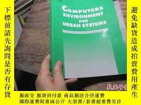 二手書博民逛書店computers罕見environment and urban