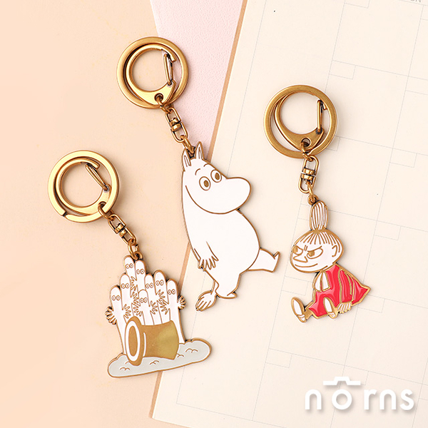 Moomin金屬鑰匙圈- Norns Original Design系列 姆明 嚕嚕米吊飾